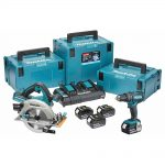 Makita DLX2140PMJ 18v LXT Twin Pack 4.0Ah Kit