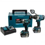 Makita DLX2176TJ Brushless Twin Pack 18 Volt 2 x 5.0Ah Li-Ion
