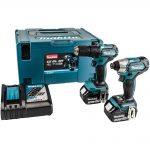 Makita DLX2221J 18v LXT Brushless Twin Pack 3.0Ah Kit