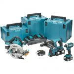 Makita DLX3049PTJ 18v LXT 3pc Combination 5.0Ah Kit
