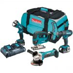 Makita DLX4051PM1 18v LXT 4pc Combination 4.0Ah Kit
