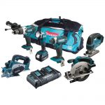 Makita DLX6067PT 18v LXT 6pc Combination 5.0Ah Kit