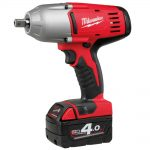 Milwaukee HD18HIW-402 18v 1/2in Pin Detent Impact Wrench 4.0Ah Kit