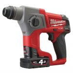 Milwaukee M12 Fuel CH-402C SDS Hammer 12 Volt 2 x 4.0Ah Li-Ion