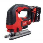 Milwaukee M18 BJS-402C 18v Jigsaw Kit 2 x 4.0Ah Li-ion Batteries