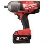 Milwaukee M18CHIWP12 18v FUEL 1/2in Pin Detent Impact Wrench 5.0Ah Kit