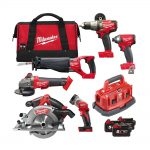 Milwaukee M18FPP6B-503B 18v FUEL 6pc Combination 5.0Ah Kit