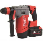 Milwaukee M28 CHPX-502C FUEL SDS+ Hammer Drill 28 Volt 2 x 5.0Ah Li-Ion