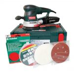 Metabo SXE450 Variable Speed Dual Orbit Sander With Carry Case