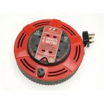 Masterplug Cassette Reel 8m 13a 4 Socket Thermal Cutout