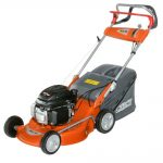 Oleo-Mac G48TH Steel Deck Self Propelled Mower with 4.5hp engine
