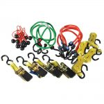 Olympia Ratchet Tie Down Bungee Set 22 Piece