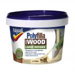 Polycell Polyfilla 2 Part Wood Filler Natural 500g
