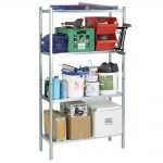 Raaco Galvanised Shelving With 4 Shelves
