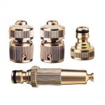 Rehau Brass Fittings Starter Set 12in