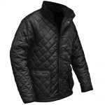 Roughneck Black Quilted Jacket Large