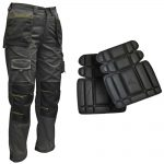 Roughneck Holster Trousers 32in Waist + Knee Pads