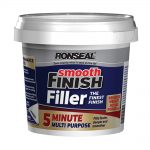 Ronseal Smooth Finish 5 Minute Multi Purpose Filler Tub 600 ml