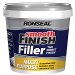 Ronseal Smooth Finish Multi Purpose Interior Wall Filler Ready Mixed 2.2 kg
