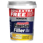 Ronseal Smooth Finish Wall Filler Ready Mixed 600g +50 Percent