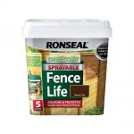 Ronseal One Coat Sprayable Fencelife Black Oak 5 Litre