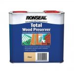 Ronseal Total Wood Preserver 5 Litre Clear