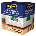 Rustins Plastic Floor Coating Satin 1 Litre