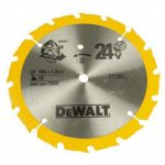 DeWalt DT1206QZ Trim Saw Blade 165 x 20 x 36 Tooth