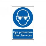 Scan Eye Protection Must Be Worn – PVC 200 x 300mm