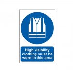 Scan High Visibility Jackets Must Be Worn In This Area – PVC 200 x 300mm