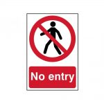 Scan No Entry – PVC 200 x 300mm