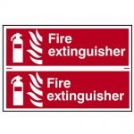 Scan Fire Extinguisher – PVC 300 x 200mm