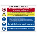 Scan Composite Site Safety Notice – Fmx 800 x 600mm