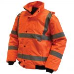 Scan Hi-Vis Bomber Jacket Orange – M 39-41in
