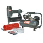 Senco SENPC0964UK1 18 Pneumatic Nailer and Compressor 110v Kit