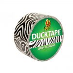 Duck Tape SHU260036 48mm x 9.1M Zebra Crossing