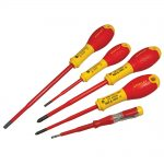 Stanley 0-62-692 FatMax VDE Insulated Screwdriver Set 5pc