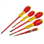 Stanley 0-62-693 FatMax VDE Insulated Screwdriver Set 5pc