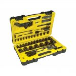 Stanley STA072655 Tech 3 78 Piece 1/4in 1/2in Drive Socket Set