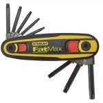 Stanley FatMax Locking Hex Key Set Torx T9-T40