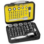 Stanley 39 Piece Bit and Socket Set + Ratchet