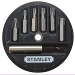 Stanley 1-68-739 Torx Screwdriver Bit Set 7pc