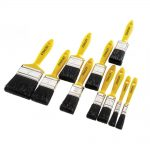 Stanley 10 Piece Paint Brush Set