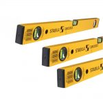 Stabila 70-2 Series Box Section Level Triple Pack – 24in, 48in 72in