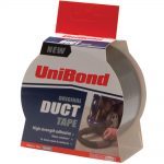 Unibond Duct Tape Silver 50mm x 50m twin pack