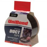 Unibond Duct Tape Black 50mm x 50 Metre Twin Pack
