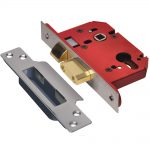 Union StrongBOLT 2203S 3 Lever SS 81mm 3in Mortice Sashlock