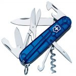 Victorinox Climber Swiss Army Knife Translucent Blue Blister Pack