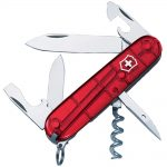 Victorinox Spartan Swiss Army Knife Translucent Red Blister Pack