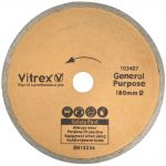 Vitrex 10 3407 Diamond Blade 180mm Standard